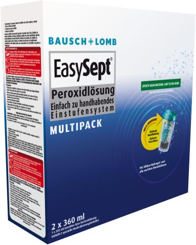 Bausch & Lomb EasySept Multipack