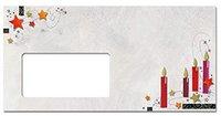 sigel DU125 Weihnachts-Umschlag, 110x220 mm