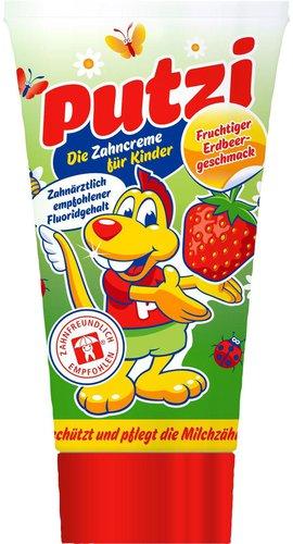 Dental-Kosmetik Putzi Erdbeere Kinderzahncreme