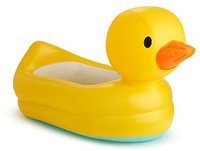 Munchkin White Hot aufblasbare Ente-Badewanne