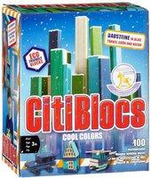 Brainstorm Ltd Citiblocs - Cool Colors 100er Set