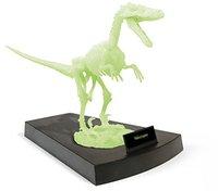 Geoworld Velociraptor Baukasten Nachtleuchtend