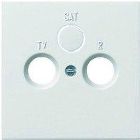 Gira Abdeckung für Koaxial-Antennensteckdose (0869112)