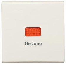 """Busch-Jaeger Wippe Mit Aufdruck  """"Heizung-Notschalter """" (2102 H-32)"""