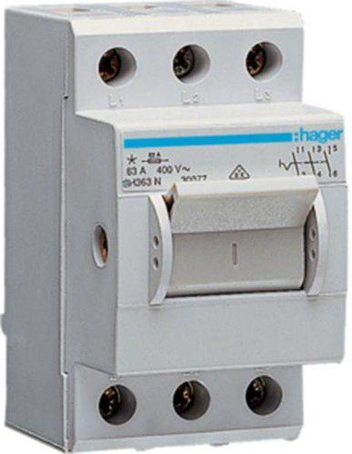 Hager Kompaktschalter 63A 3-polig (SH363N)