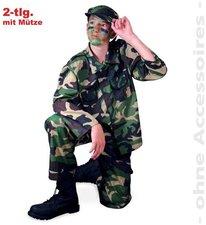 Gurimo-Tex Kinderkostüm Soldaten Tarnanzug