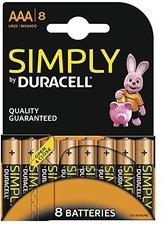 Duracell 8x AAA Alkaline Simply