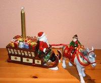 Villeroy & Boch Christmas Toys Santa mit Pferdeschlitten