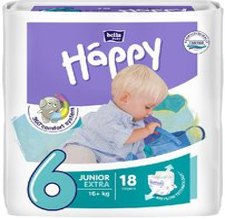 Bella Baby Happy Junior extra Windeln 16+ kg (Größe 6)