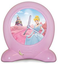 Worlds Apart Disney Princess 2in1 Lernuhr mit Nachtlicht
