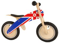 Kiddi moto Union Jack Kurve
