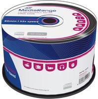 MediaRange CD-R 700MB 80min 52x Vinyl 50er Cakebox