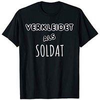 T-Shirt Faschingskostüm Verkleidet als Soldat