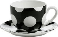 Maxwell & Williams Polka Dot Tasse mit Untertasse