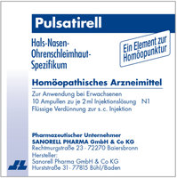 Sanorell Pulsatirell Injektionslösung (10 x 2 ml)