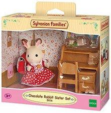 Sylvanian Families Hasenmädchen und Schreibtisch