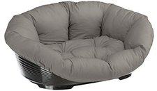 Ferplast Kunststoffbett mit Baumwollbezug 8 (92 x 69.5 x 30 cm)