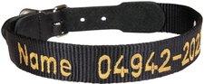 Schecker Halsband Gravur (38-43 cm)