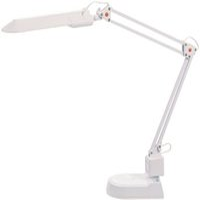 Alco Albert Schreibtischlampe weiß mit Standfuß (95810)