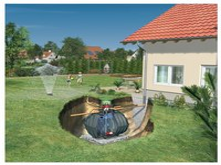 GRAF Carat Komplettpaket Garten-Komfort 2700 L begehbar (370110)