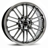 Borbet CW2 (8,5x18) silver 5x115