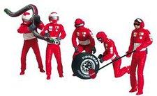 Carrera Figurensatz Mechaniker rot 21109