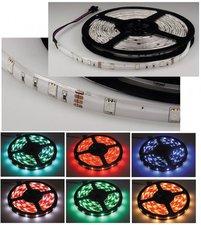 ChiliTec LED-Stripe RGB 1m 30er 12V 6,5W IP44