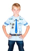 Kid's Shirt Pilot Captain T-Shirt blau