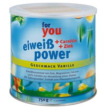 Strunz For You Eiweiss Power Vanille (750 g)