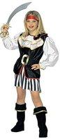 Widmann Kinder-Kostüm-Set Piraten-Girl