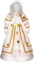 Widmann Schnee-Prinzessin Kostüm für Mädchen