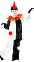Widmann Clown Kostüm Kinder Pierrot