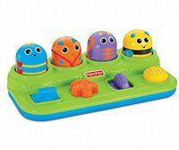 Fisher Price Brilliant Basics - Boppin Activity Bugs
