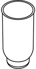 Hewi System 162 Einsatz für WC-Bürstengarnitur