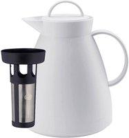 Alfi Dan Kunststoff weiß 1,0l + Teefilter