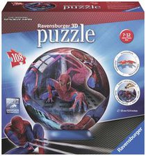 Ravensburger Spiderman (Puzzleball, 108 Teile)