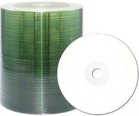 JVC CD-R 700mb 80min 48x Inkjet fullprintable white 100er Cakebox