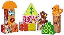 Ebulobo Holz-Würfel-Puzzle Woodours die Waldbären
