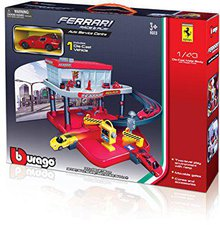 Bburago Ferrari Race & Play Service Center