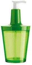 Koziol Flow Seifenspender grün