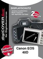 S+M digiCOVER Plus Schutzfolie für Canon EOS 40D