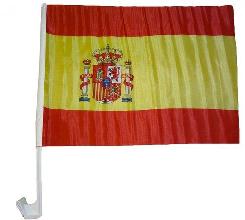 Spanien Autoflagge EM 2016