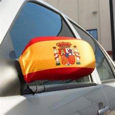 Spanien Außenspiegelfahne EM 2016