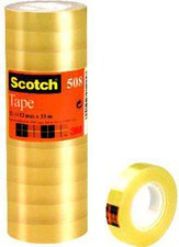 Scotch Klebeband 508 12mm x 33m VE=12 Rollen