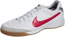 Nike Tiempo Mystic IV IC White/Siren Red/Metallic Silver
