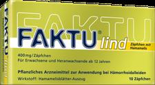 Nycomed Faktu Lind Zäpfchen (10 Stk.) (PZN: 07798768)