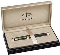 Parker Premier S.C. Füllfederhalter Laque Deep Black M