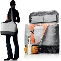 Menu Kühltasche Cool Bag grau/orange