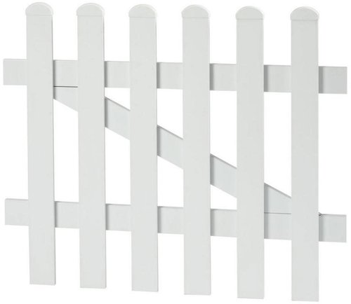 KM-Zaun Tür 1-flg. gerade (96x80 cm)