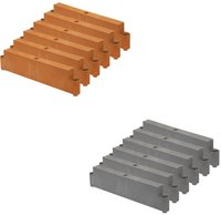 Juwel Hochbeet Größe 1 Aufbausatz basalt (20536)